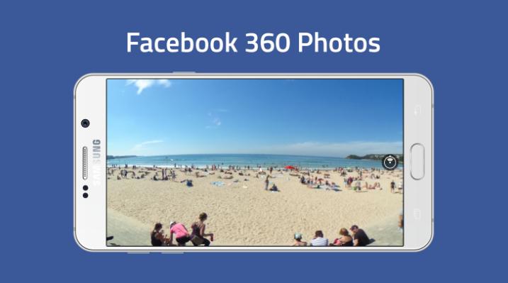 วิธี Upload รูป ให้แสดงแบบ 360 องศา ใน Facebook